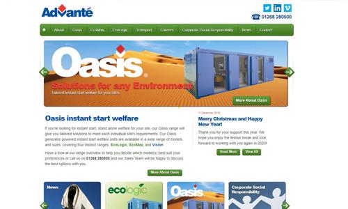 new website 2012