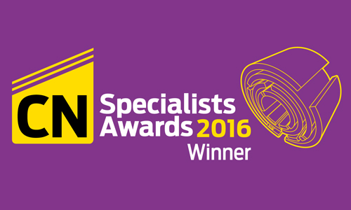 Winner CN Specialists Awards 2016 logo