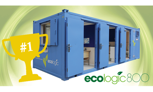 EcoLogic 800 with number 1 trophy