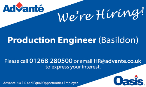 Production Engineer (Basildon)
