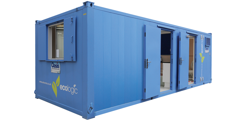 Oasis EcoLogic 24ft static welfare unit