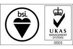 BSI logo UKAS Management Systems