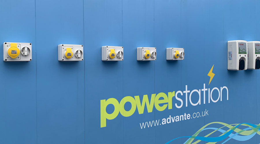 Close up of oasis powerstation unit