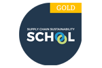 Supply Chain Sustainability School Gold Member logo