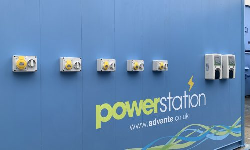 PowerStation with external charge points