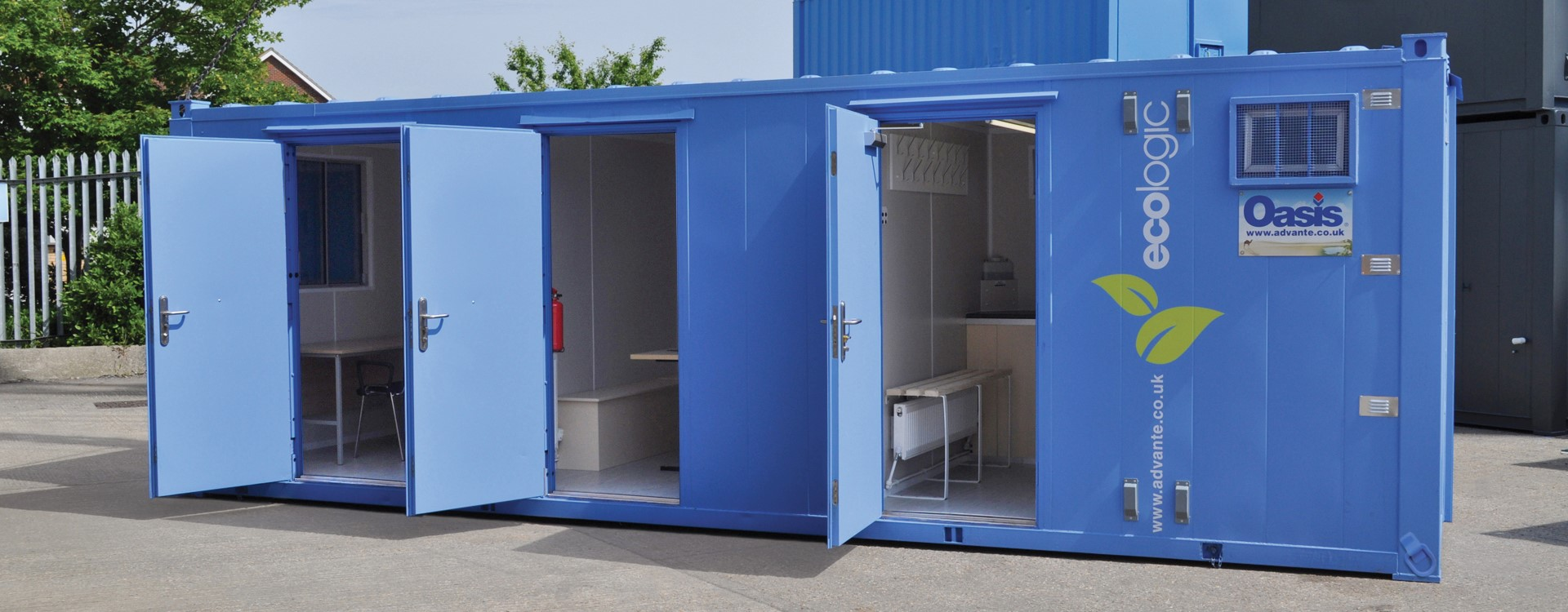 Oasis EcoLogic 800 welfare unit