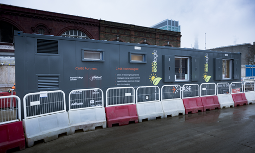 HS2 trials CAGE technology in Oasis EcoLogic welfare unit